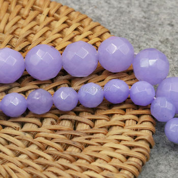 8mm 12mm Semi Finished Stones Balls Purple Amethysts Accessories Crafts Loose Round Beads Jewelry Making Handmade Gifts 15inch