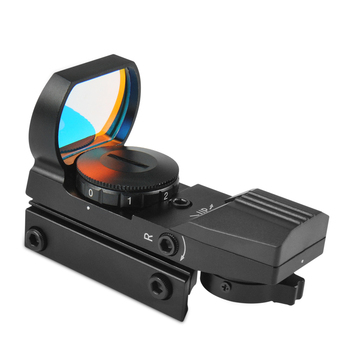 Taktik Holografik Lazer Sight Kapsam 33mm Refleks 4 Red Dot Reticle Picatinny Ray